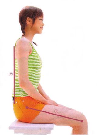 大腰筋を使う、骨盤に良い正しい座り方と歩き方