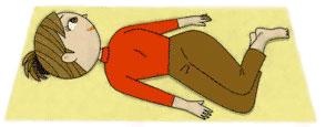 腰痛予防のストレッチ体操