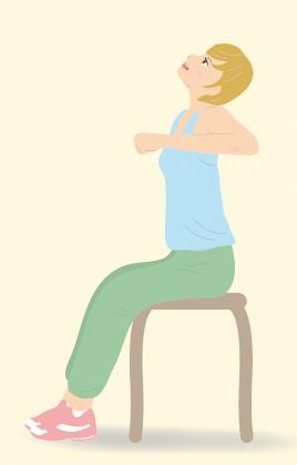 猫背を治す、猫背矯正体操