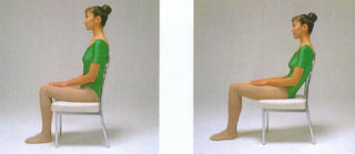 腰の痛み・腰痛を治す腰痛体操、座り方
