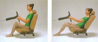 腰の痛み・腰痛を治す腰痛体操、車の運転