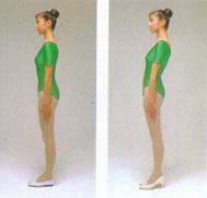 腰の痛み・腰痛を治す腰痛体操、靴ハイヒール