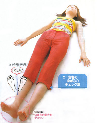 大腰筋が弱った骨盤のゆがみを骨盤矯正体操で矯正