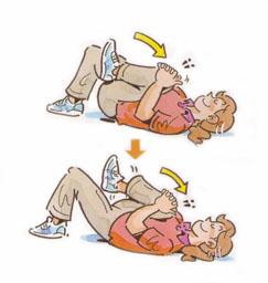 簡単にできる腰痛体操・背中ストレッチ